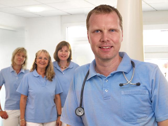 Doktor Albus und Team